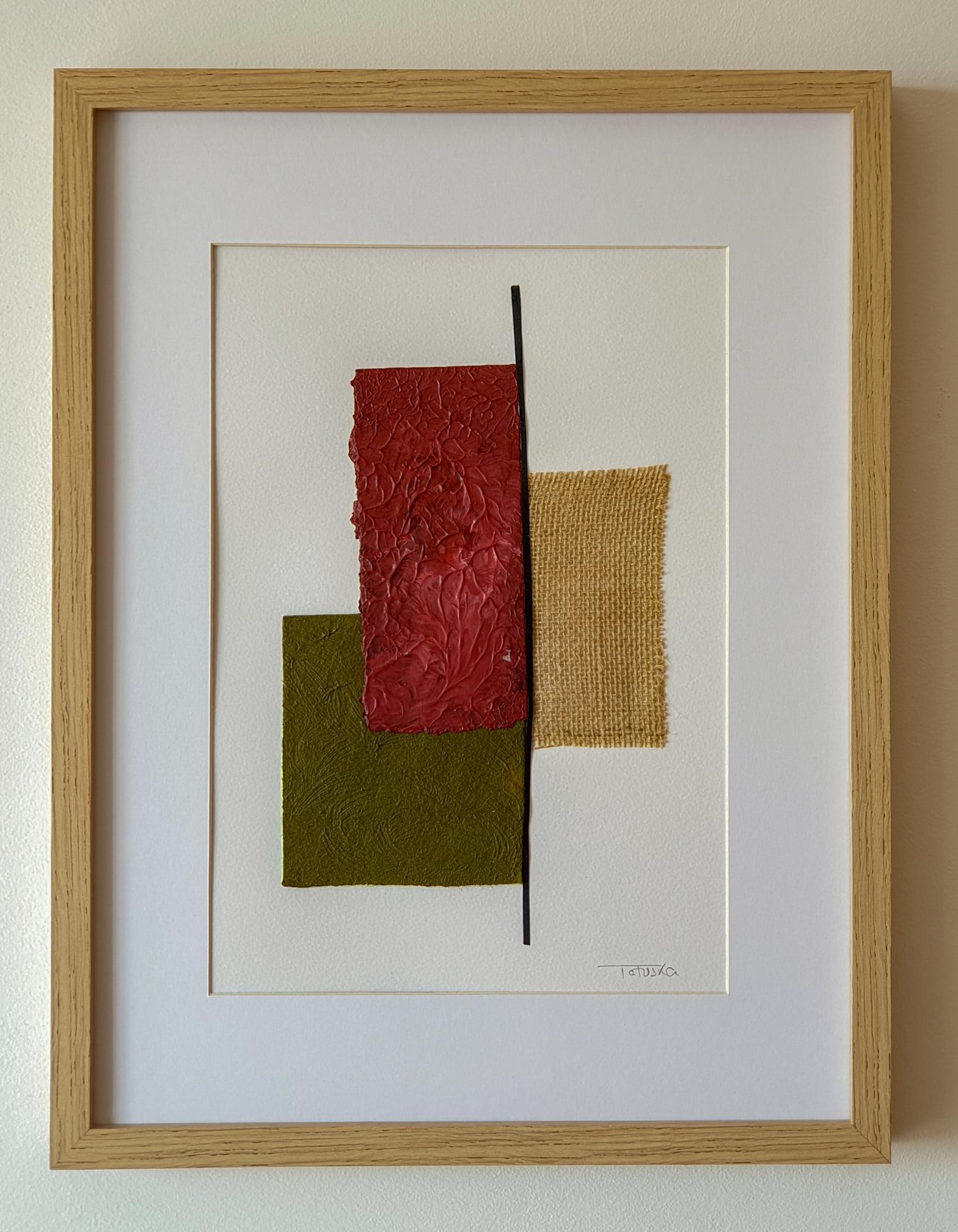 "Cuadro de arte abstracto titulado ""Landscape view"" de la artista Tatuska (https://artuska.com)"