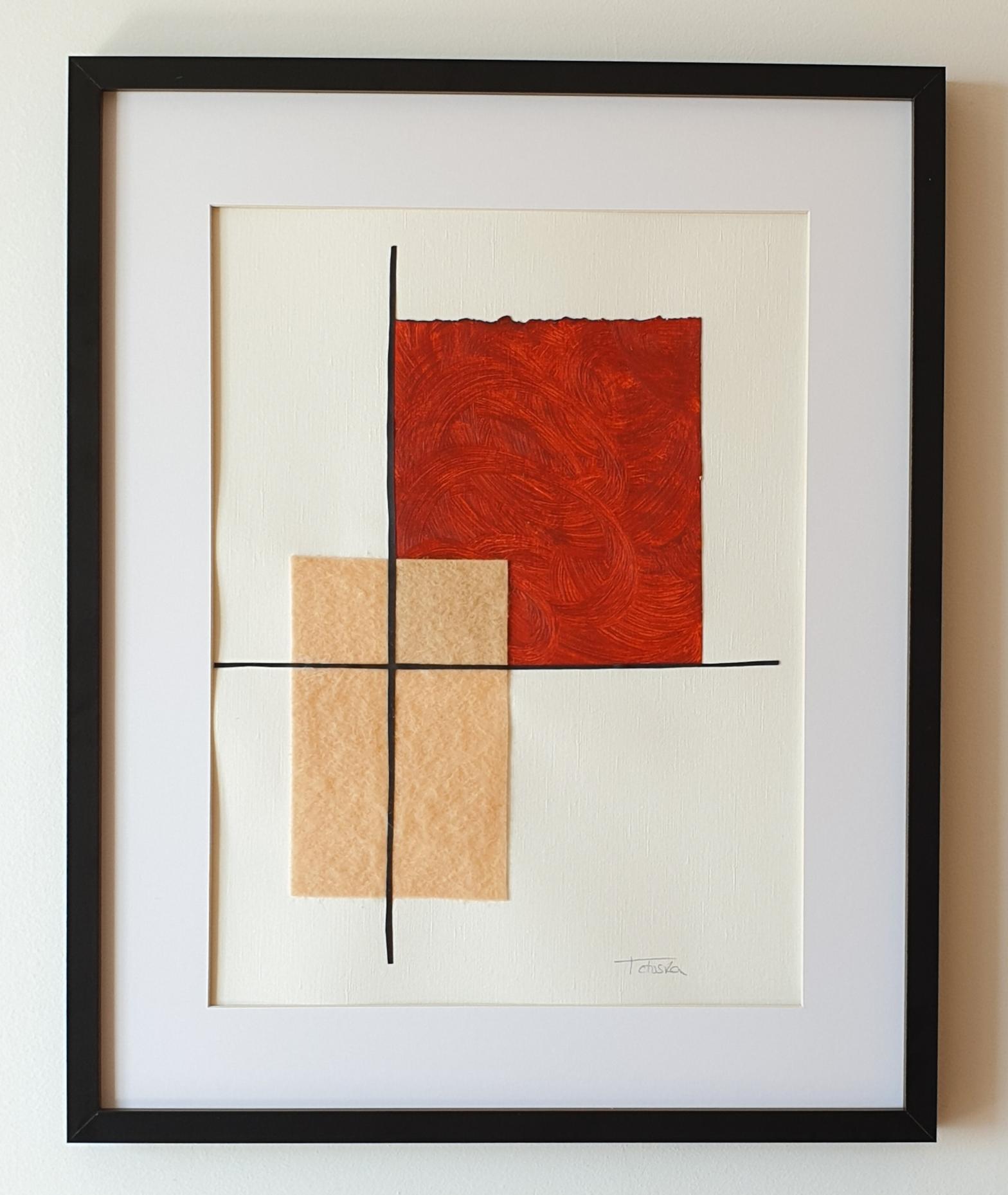 "Cuadro de arte abstracto titulado ""Prosperity"" de la artista Tatuska (https://artuska.com)"