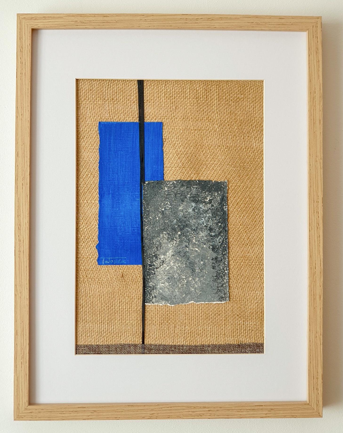 "Cuadro de arte abstracto titulado ""The moon"" de la artista Tatuska (https://artuska.com)"