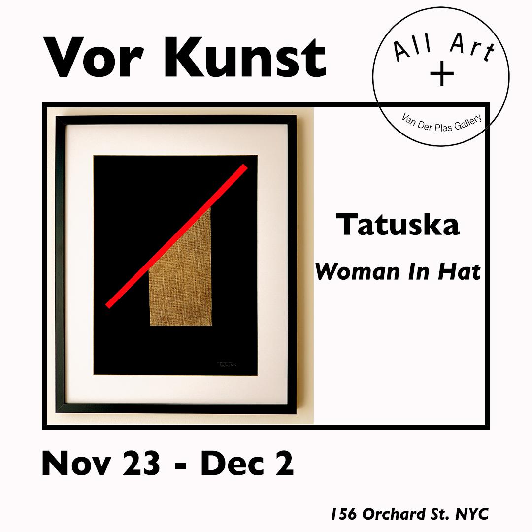 """Cuadro de la artista Tatuska mostrado en la exposición """"Vor Kunst"""" en la Galería Van der Plas de Nueva York"""