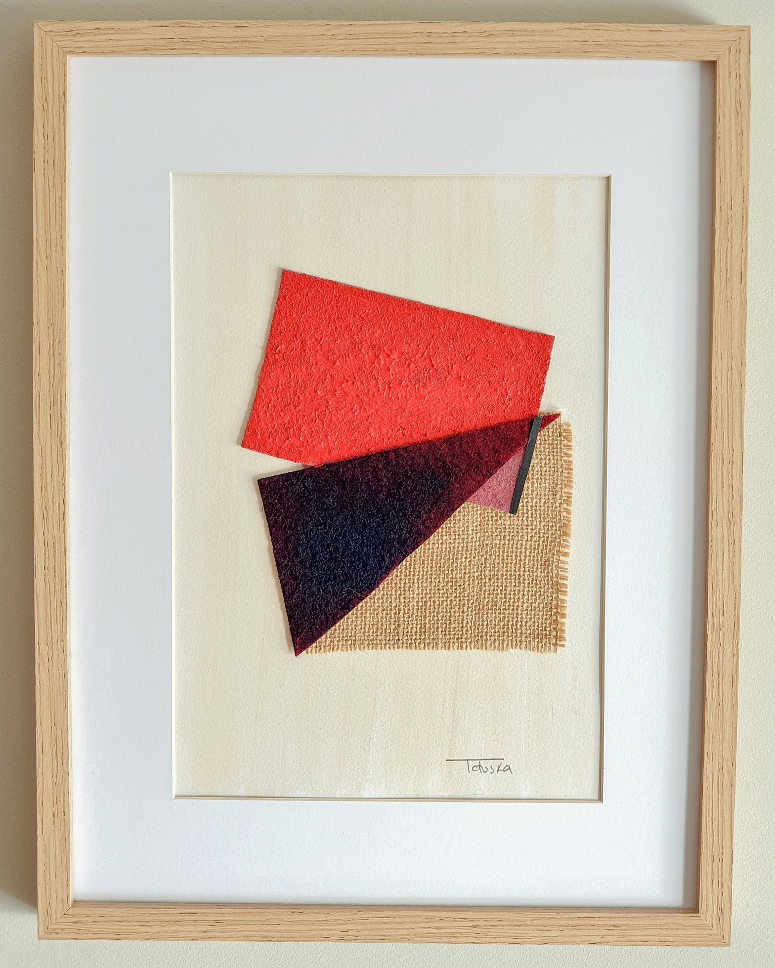 """Cuadro de arte abstracto titulado """"Blooming"""" de la artista de arte abstracto contemporáneo Tatuska"""