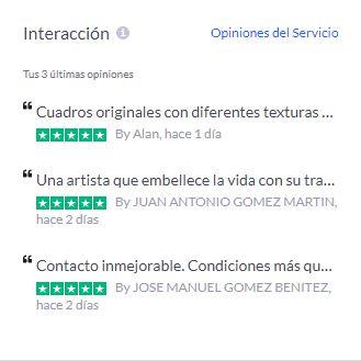 Últimos comentarios y reseñas de clientes de Artuska en Trustpilot