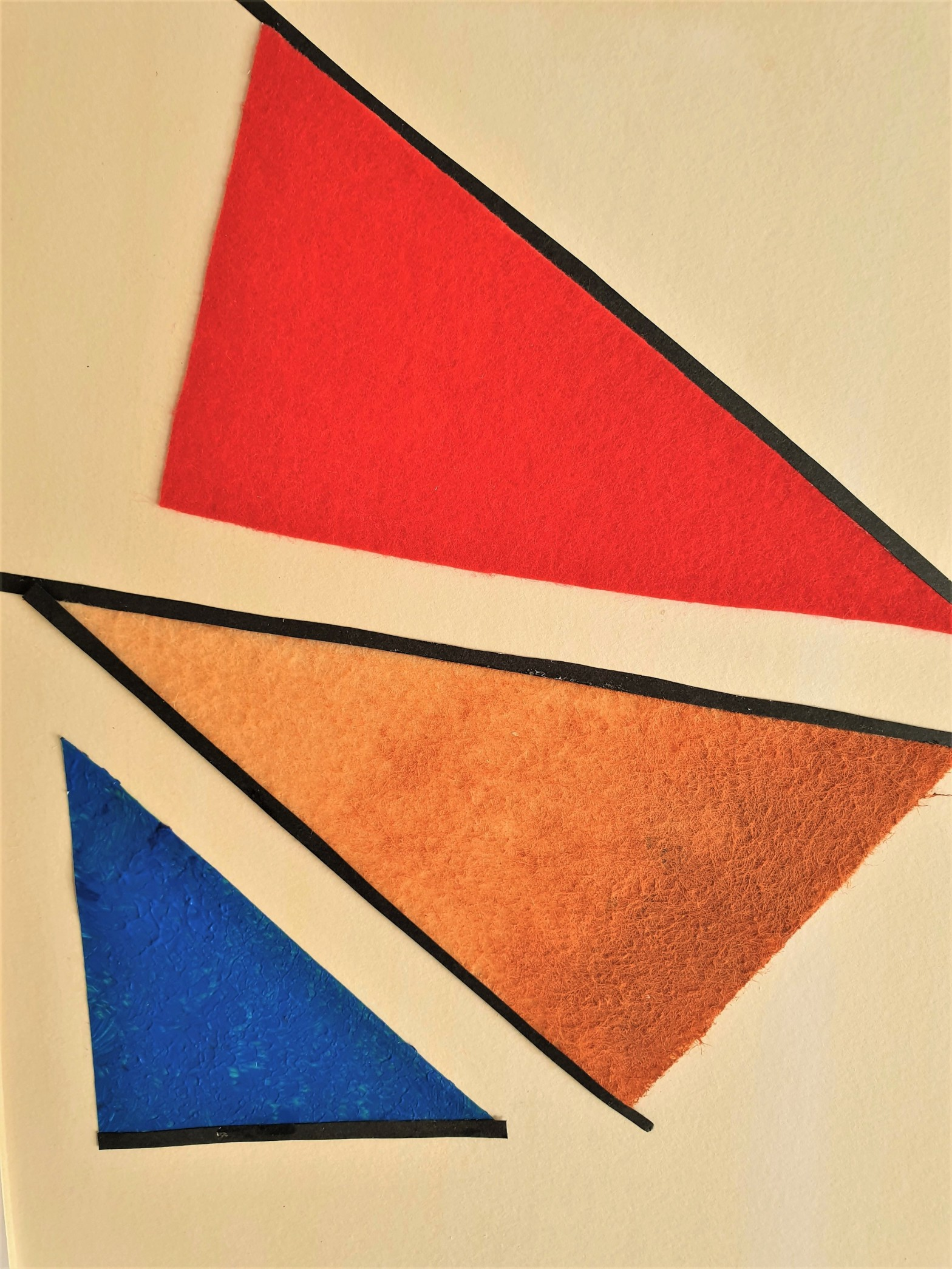 """Detalle del interior de la obra """"Distortion"""", por Tatuska"""