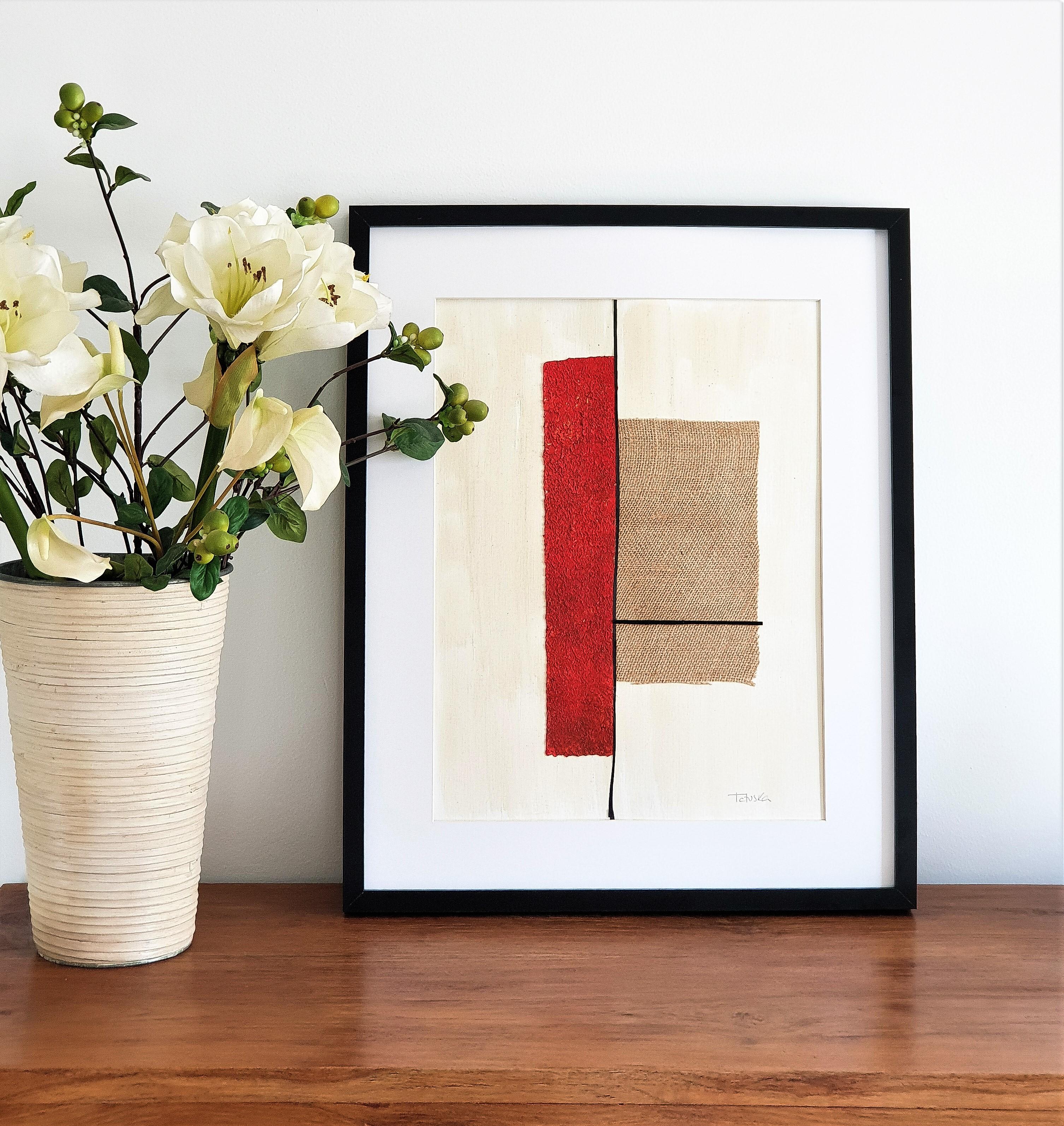 """Slightly different"", cuadro abstracto de Tatuska"