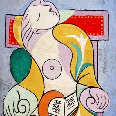 Pablo Picasso. La lectura.1932.
