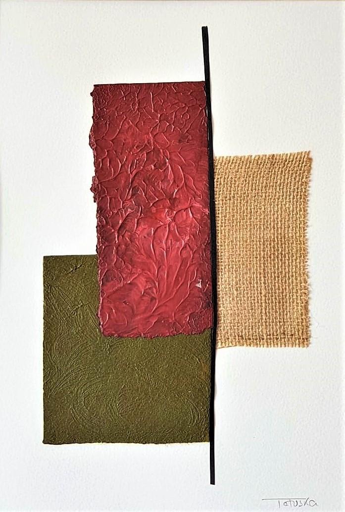 """Comentario e interpretación del cuadro de arte abstracto titulado """"Landscape view"""", por Tatuska"""