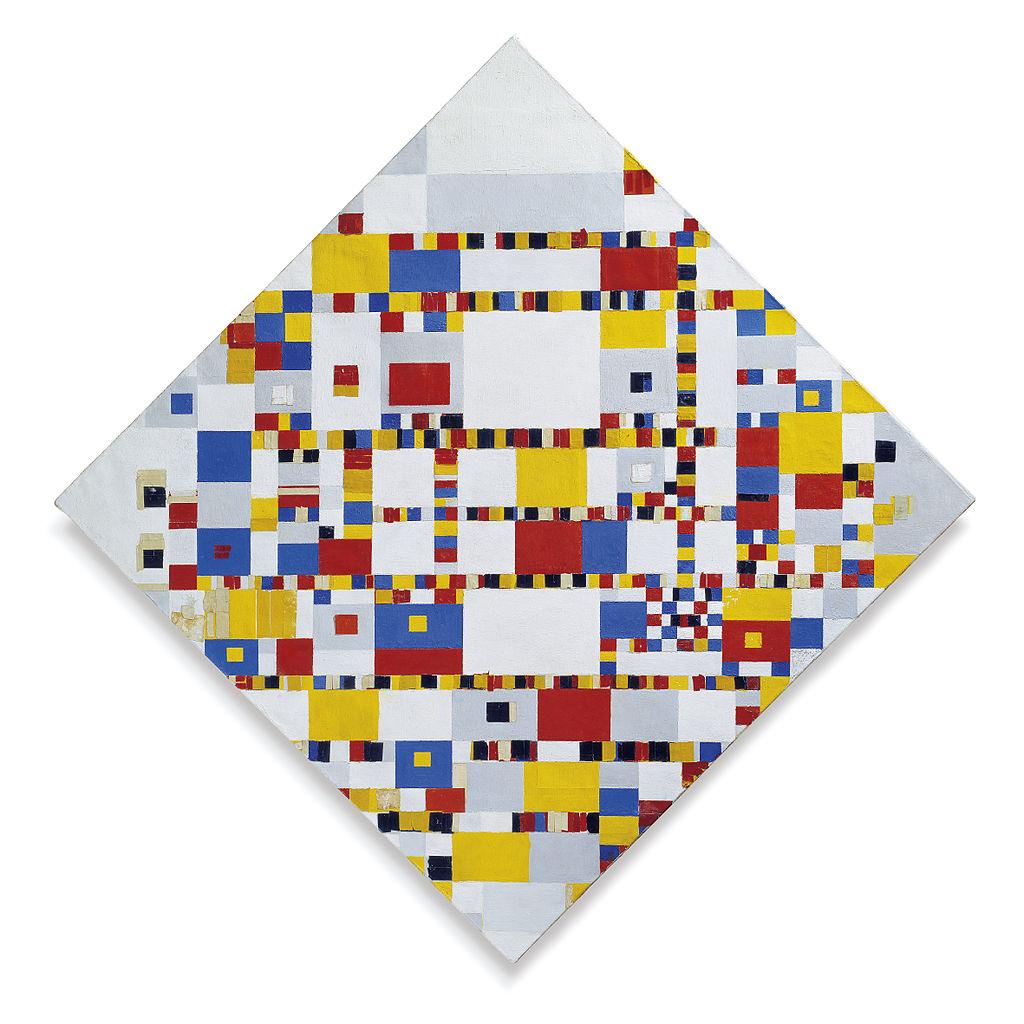 Piet Mondrian. Victory Boogie Woogie