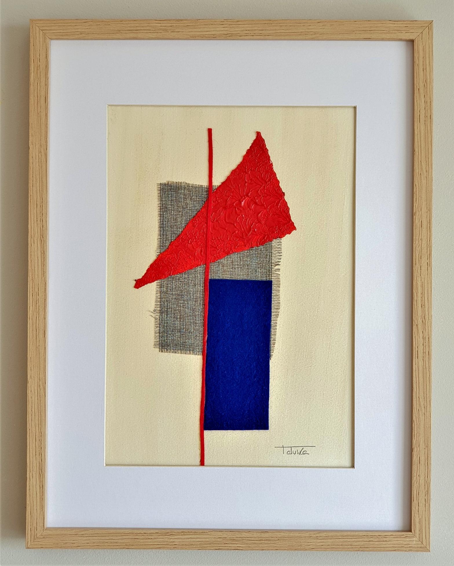 """Cuadro original de arte abstracto contemporáneo titulado """"Target"""", obra de la artista Tatuska"""
