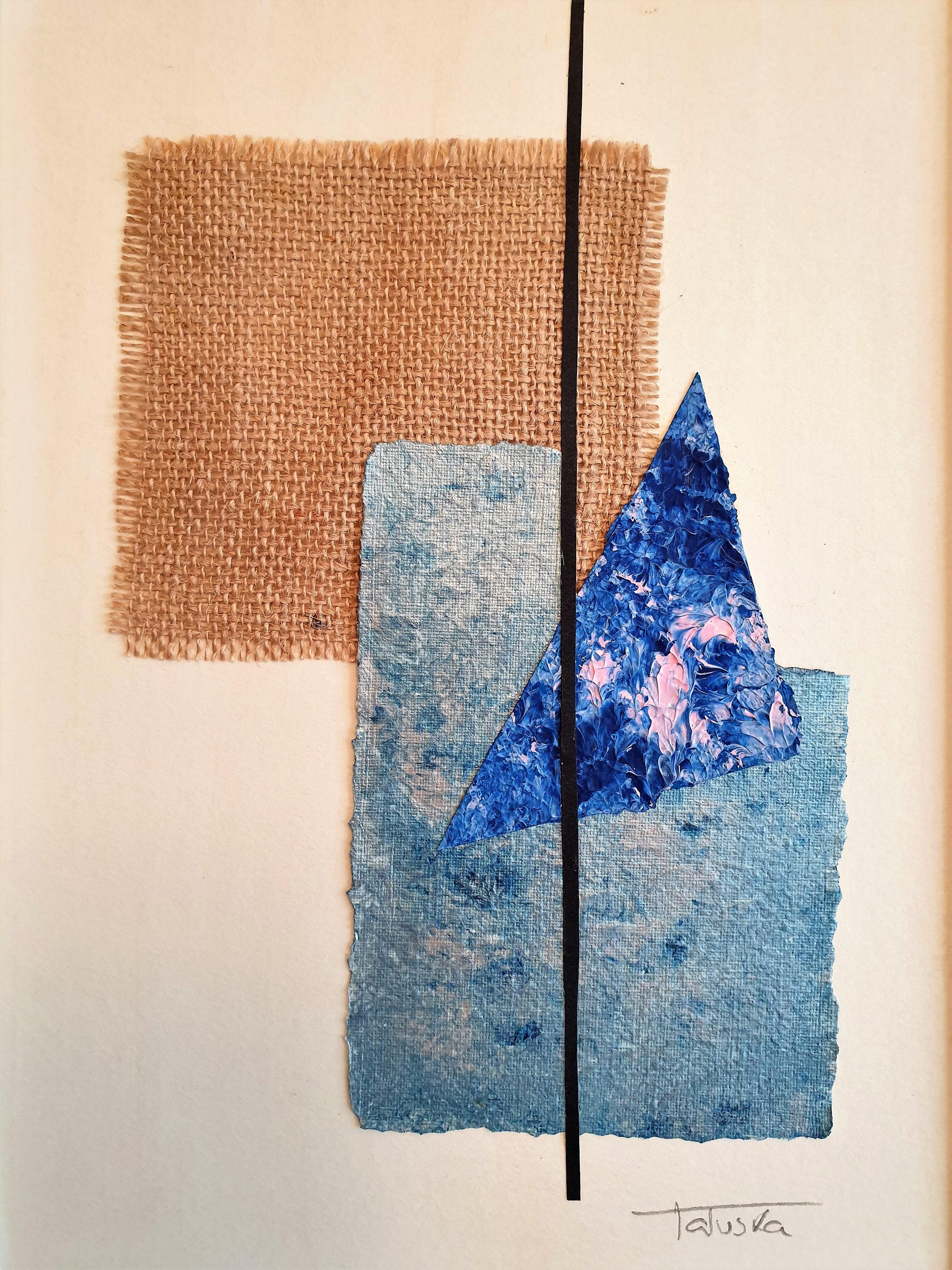 "Cuadro abstracto ""Beach"", por Tatuska"
