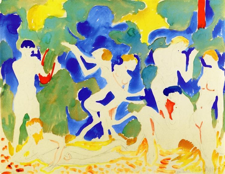 Music. Henry Matisse, 1900.