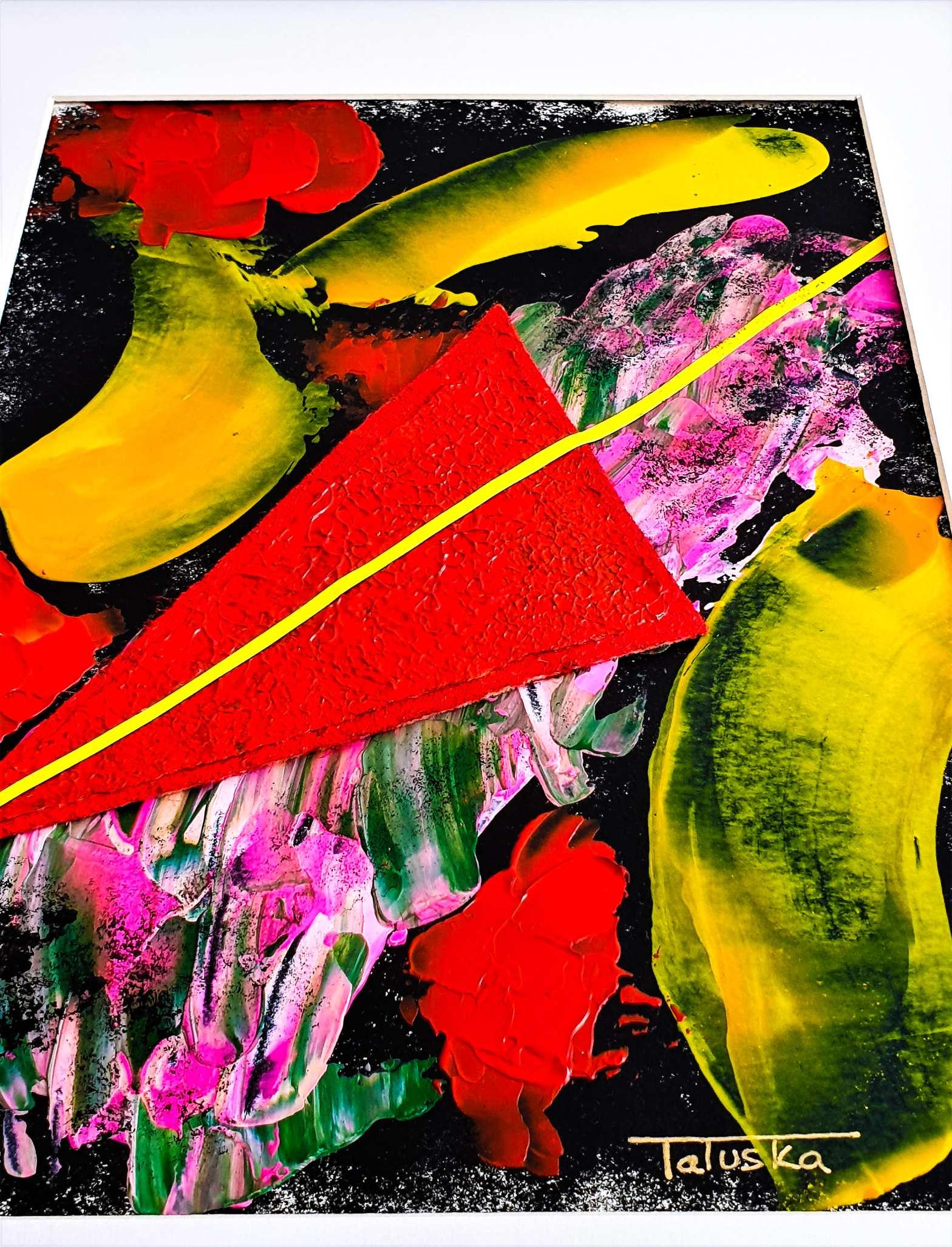 Fireworks. Tatuska 2021. Serie impresionismo abstracto