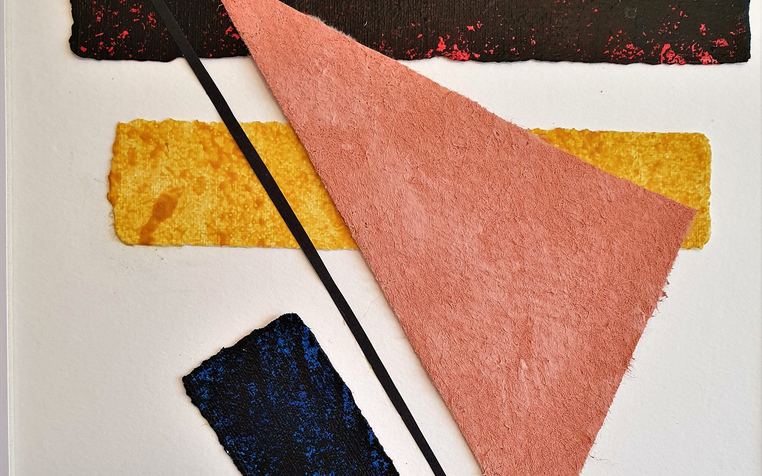 Enlace a la galería de obras de las serie geométrica minimalista de la artista Tatuska