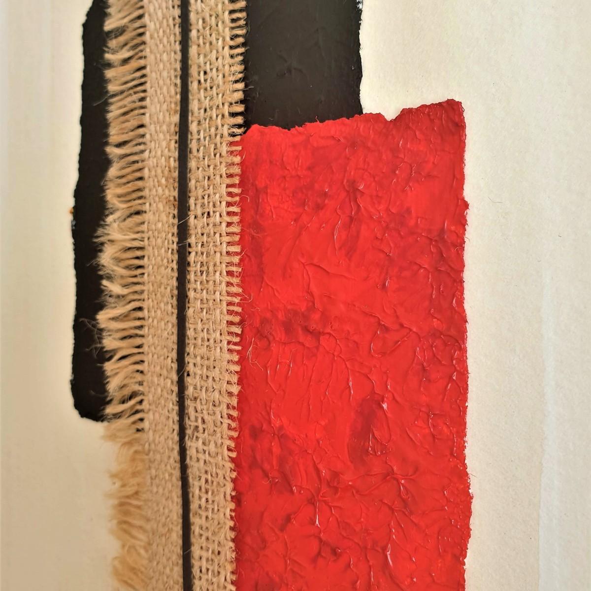 """cuadro abstracto """"Tribal"""", por Tatuska"""